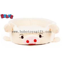 Plush Stuffed Pig Shape Pet Cama para Cachorro Dog Cat Bosw1095 / 45X40X13cm