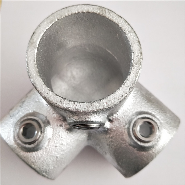 104E60 - long tee key clamp fittings
