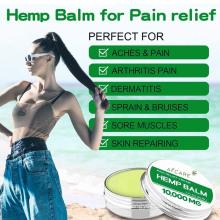 Brightening Hemp Balm Coconut Hemp Balm & Lip Balmnourish & Repairi Hemp Balm OEM/ODM Private Label