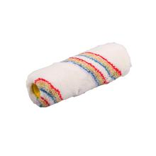 White Paint Roller Head With Colorful Stripe