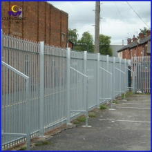 Garden protect prefab wrought iron fence