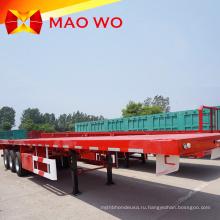 Прямая продажа Tri-alxes 45 тонн бортовой прицеп-контейнеровоз