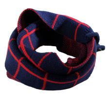 Children Kids Baby Unisex Winter Knitted Checked Scarf (SK414)