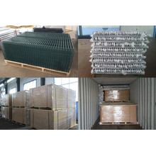 3D Fence Panel With Post Wire Mesh Fence