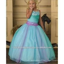 2013 beaded ruched ball gown custom-made little girls pageant dress CWFaf4814