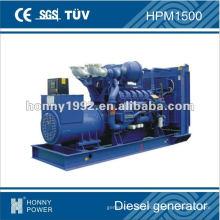 Groupe électrogène diesel 1100kW, HPM1500, 50Hz