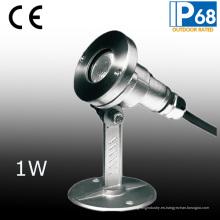 Foco sumergible LED IP68 con base de montaje