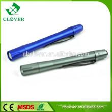 Liga de alumínio 3w levou barata promocional caneta estilo lanterna