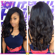 2015 New design high end glueless full lace wigs wholesale cheap chinese virgin hair full lace wig