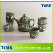 Ceramic Stoneware Handpainted Grace Korea Tea Set Price