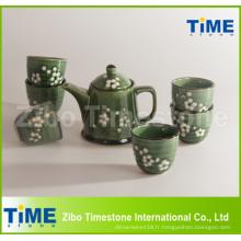 Grès céramique peint à la main Grace Korea Tea Set Price