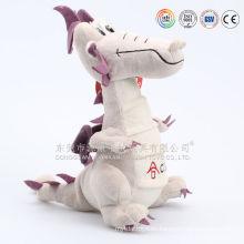 Diseño personalizado peluche y dragón de peluche volador azul relleno peluche de felpa