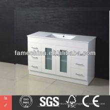 Mármore carrara branco banheiro vaidade topo Hangzhou Hot Sale mármore carrara branco banheiro vaidade topo