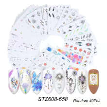 New Arrival Halloween Holiday Nail Art Sticker Decal Nail Art Decoration
