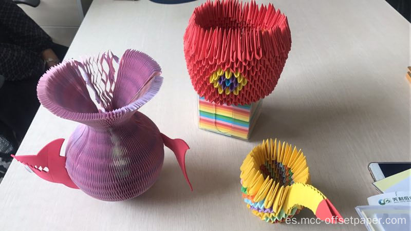Proceso de color Papel de origami
