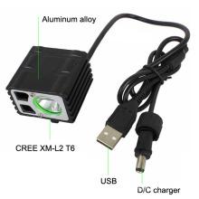 Xml T6 LED Accessoires vélo Rechargeable Bicycle Light