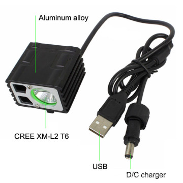 Xml T6 LED Bicycle Accessories Rechargeable Bicycle Light