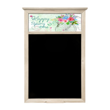 Spring design blackboard