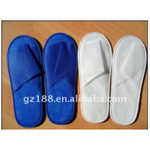 fabric sole slipper non woven fabric disposable slipper for hotel high quality and cheap