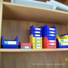 caja de plástico barata caja de almacenamiento de plástico montado en la pared para las cosas organizadas