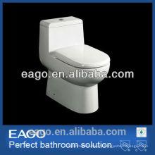ЕАГО СКП watersense один кусок керамический s-ловушка двойного смыва туалет TB351M/Л