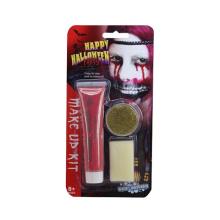 Kit de maquillaje facial no tóxico para fiesta de Halloween (10265928)