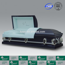 LUXES American Popular Design Metal Caskets For Sale