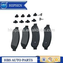 Kits de plaquettes de disque de frein avant OEM # BC3Z-2001-E pour Super Futy F250 F350 F450 (2005-2012)