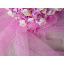 Tissu teint par plaine de polyester du tissu 50d de moustiquaire