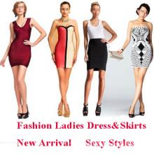 Ladies Dress, Fashion Skirt for Ladies, Sexy Womens Dress