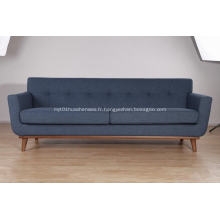 canapé en tissu de lin