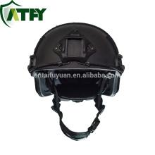 FAST Aramid tecido à prova de balas Kevlar capacete militar