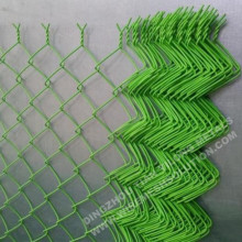 RAL6005 Chain Link Fence for Gardening