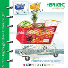 plastic marketing trolley