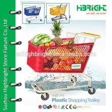 Пластиковая маркетинговая тележка