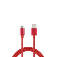 Mesh Weaving Sync and Charge USB Cable for Micro USB Device