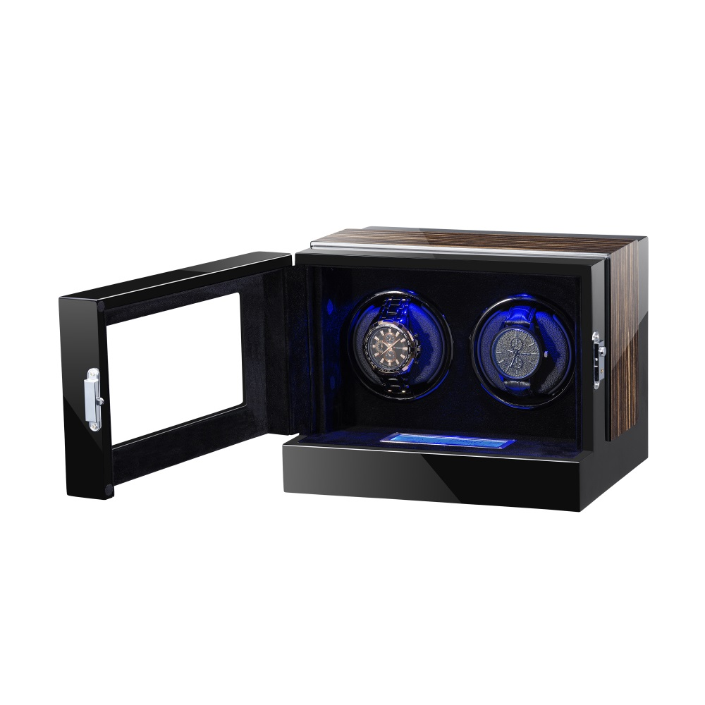 Touch screen watch winder