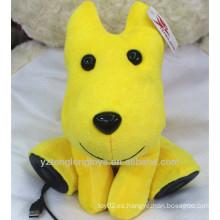 Altavoz lindo del usb del perro de juguete de la felpa del regalo
