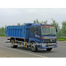 Foton 10CBM Peru Garbage Tipper Truck, China nuevos camiones de basura fabricantes