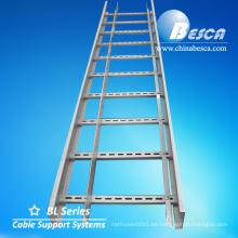 Bandejas de cable galvanizadas en caliente Bandejas de cable en fábrica Sistemas de soporte