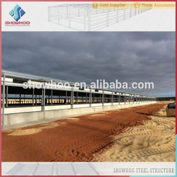 Showhoo Geflügel Bauernhof Designs Layout für Stahl Struktur Hühner Häuser