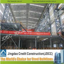 Entrepôt de structure en acier de lumière de galvanisation de haute élévation de haute qualité