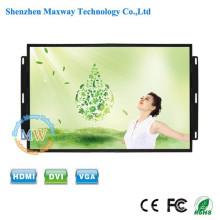 Hohe Helligkeit TFT-Farbe 15,6 Zoll kein Rahmen LCD-Monitor mit Menü-Tasten