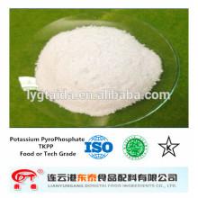 TKPP, pirofosfato de potasio de calidad alimentaria - emulsionante, mejorador de calidad, conservante fresco, conservación del agua,