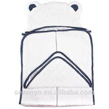 100% organicbamboo Toalla con capucha para niños y niñas - Antibacterial & hipoalergénico Toalla de baño con capucha para recién nacidos