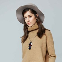 2016 Knitting Cotton Cashmere Lady Sweater