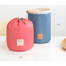 Bolsas de viaje vendedor caliente bolsa cosmética redonda