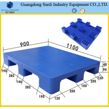 HDPE 9 Feet 1100X900 Flat Top Plastic Pallet