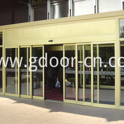 Ningbo GDoor Telescopic Auto Slide Doors with Compact Door Body