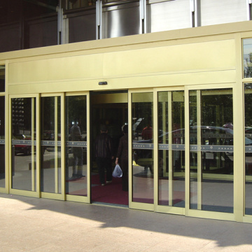 Telescopic Auto Slide Doors dengan Compact Door Body